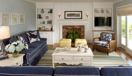 Blue Navy Couch