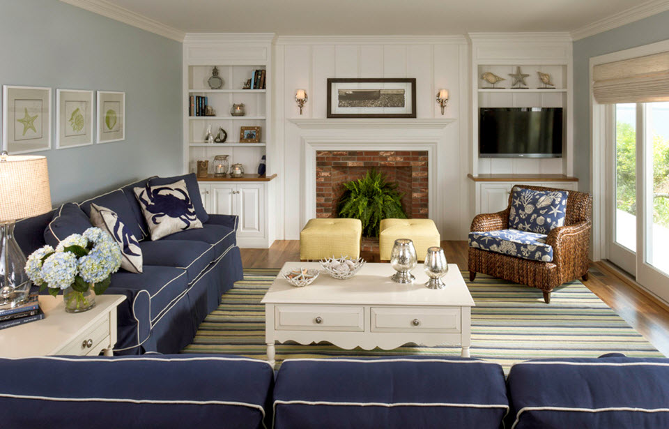 How To Use Blue In Your Home Interior Decorating With